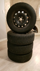 WINTER TIRE 235-65-17 with rims