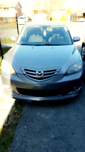 2004 mazda3 as is 1000$