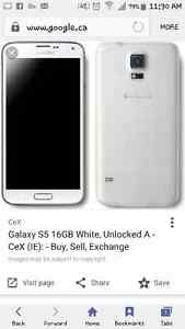 Galaxy s5 for sale or trade Kitchener / Waterloo Kitchener Area image 1