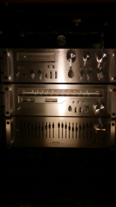 Vintage silver faced  setup with rare