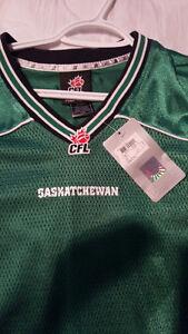 Brand new Saskatchewan Roughriders Jersey