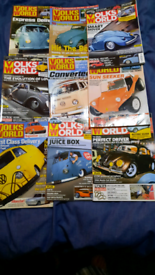 36 volksworld mags 3 year subscription for £2