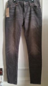 NEW Ralph Lauren gray skinny jeans Size 30 (10)