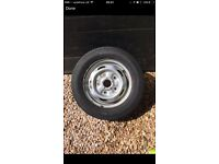 Ford transit wheel and tyre.