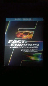 Fast and furious 6-movie collection.