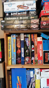 Huge lot of assorted Board Games