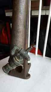 Antique Sevice Station Tire Pump with S Strathcona County Edmonton Area image 4