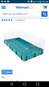 Iso of a c&c guinea pig cage
