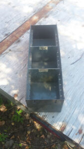 Steel Parts Bins with Dividers