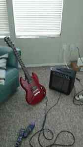 ELECTRIC GUITAR @ AMP EPIPHONE SG SPECIAL