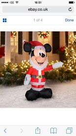 5ft Christmas mickey mouse