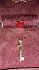 Beautiful gold chain and pendant