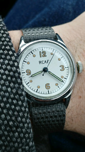 Looking for RCAF, Army, Navy and military watches.