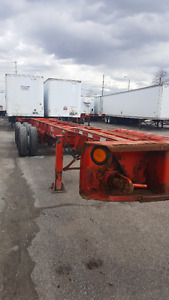 2005 MAX ATLAS Combo Chassis Carries 40' to 53' Containers