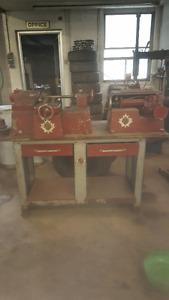 RJ West Brake rotor and drum lathe