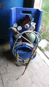 Oxy acetylene torch kit with tanks $500 OBO