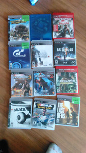 Selling ps3 games $5 each or 55 for all