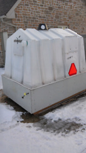 Ice fishing hut--$400 reduced to sell for family day weekend.