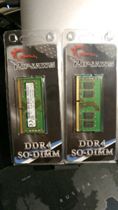16 GB Ram DDR4 for laptops