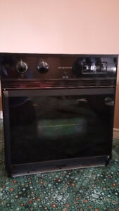 Frigidaire wall oven and Kenmore cook top