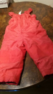 Winter child pants for 3 years old.
