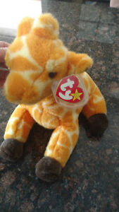 Original Beanie Buddy Twigs the Giraffe - 1st Generation 1998 Cambridge Kitchener Area image 1