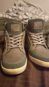 Stylish guess hightop shoes size 11