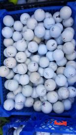 Tray of maxfli & noodle golf balls