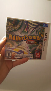 ROLLER COASTER TYCOON 3DS