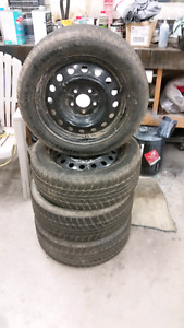 """4 16"""" Rims and tires"""
