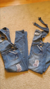Girls  jeans  overalls
