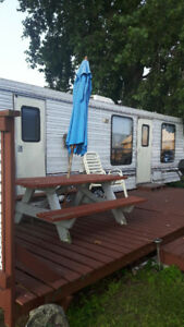 Erieau Camping trailer for rent