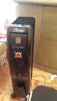 Garrison Oil Filled Heater with Remote