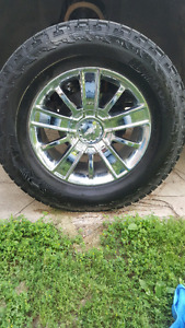 "20"" Chevy rims"
