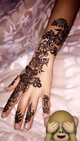 Henna tattoos for any event or bridal