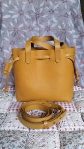 Madewell small drawstring transport bag purse