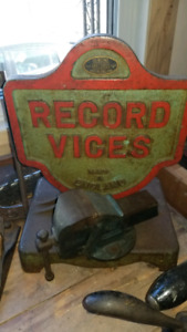 VISES VICES USA ENGLAND PARKER  RECORD VERITAS  YORK