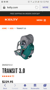 Kelty kids carrier