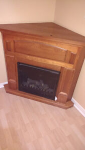 Electric Corner Fireplace