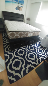 New Bed frame + mattress (Queen size)