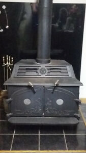 Wood Stove - Vintage - Fireplace