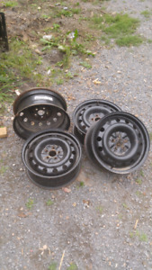 """Get ready for winter! 16"""" steel rims - great condition"""