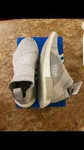 [Size 8] Adidas NMD City Sock Primeknit PK Grey