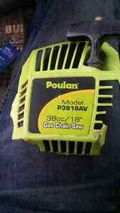 Recoil start chainsaw poulan