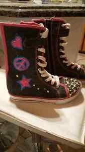 BOTTES STYLE CONVERSE FILLE