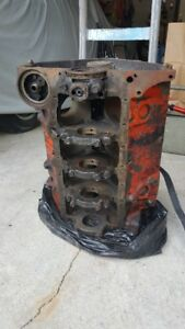 CHEVY FOUR BOLT MAIN ENGINE BLOCK FOR SALE.  CASTING 3970010