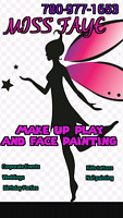 Kids party, face painting, nail fantasy