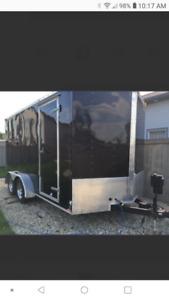 2014 Continental Enclosed Cargo Trailer