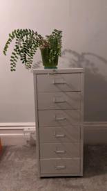 Ikea filing cabinet White
