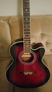 Beautiful Ibanez acoustic/electric ael8e